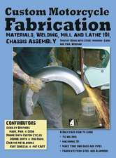 Custom Motorcycle Fabrication