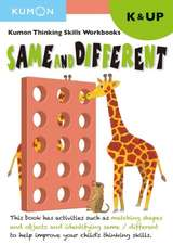 Kindergarten Same and Different