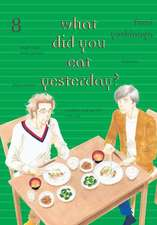 What Did You Eat Yesterday? Volume 8