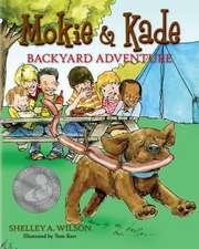 Mokie & Kade Backyard Adventure
