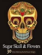 Sugar Skull and Flower