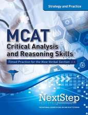 MCAT Critical Analysis and Reasoning Skills:  Strategy and Practice