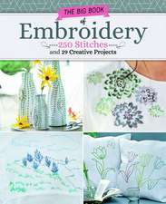 Big Book of Embroidery: An Essential Guide to 237 Popular Stitches and Techniques, Plus 29 Projects to Make