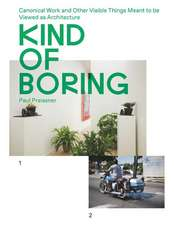 Kind of Boring: Canonical Work and Other Visible Things Meant to Be Viewed as Architecture: Canonical Work and Other Visible Things Meant to Be Viewed