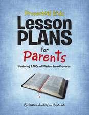 Proverbial Kids Lesson Plans for Parents