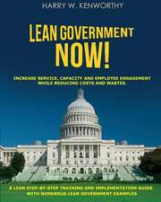 Lean Government - Now!