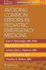 Avoiding Common Errors in Pediatric Emergency Medicine