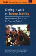 GETTING TO WORK ON SUMMER LEARPB