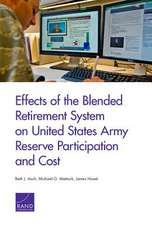 EFFECTS OF THE BLENDED RETIREMPB