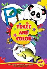 Trace and Color Book