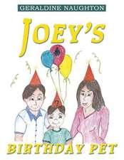 Joey's Birthday Pet