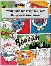 Write Your Own Story Book with This Graphic Novel Maker