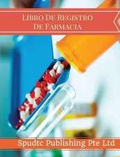Libro de Registro de Farmacia