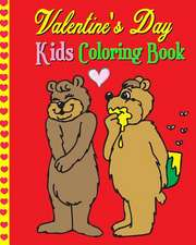 Valentine's Day Kids Coloring Book