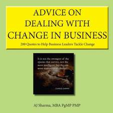 Advice on Dealing with Change in Business