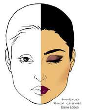 Makeup Face Charts Elaine Edition