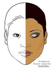Makeup Face Charts Gloria Edition