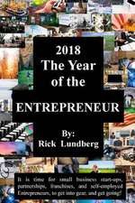 2018 - The Year of the Entrepreneur