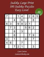 Sudoku Large Print - Easy Level - N10