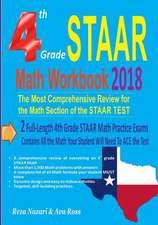 4th Grade Staar Math Workbook 2018