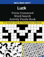 Luck Trivia Crossword Word Search Activity Puzzle Book