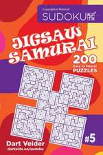 Sudoku Jigsaw Samurai - 200 Easy to Master Puzzles 9x9 (Volume 5)