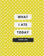 What I Ate Today Food Log
