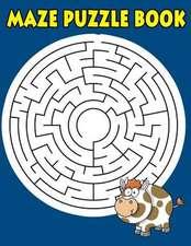 Maze Puzzle Book