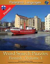 Parleremo Languages Word Search Puzzles Finnish - Volume 3