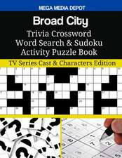 Broad City Trivia Crossword Word Search & Sudoku Activity Puzzle Book