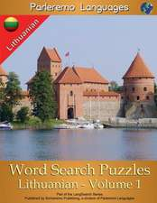 Parleremo Languages Word Search Puzzles Lithuanian - Volume 1