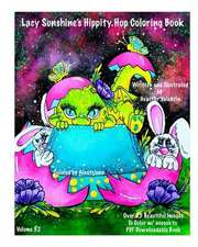 Lacy Sunshine's Hippity Hop Coloring Book