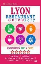 Lyon Restaurant Guide 2019