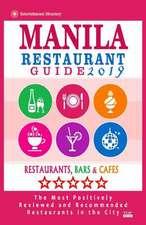 Manila Restaurant Guide 2019