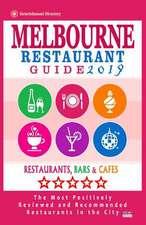 Melbourne Restaurant Guide 2019