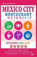 Mexico City Restaurant Guide 2019