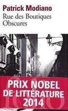 Rue Des Boutiq Obscures:  Et Dix Autres Nouvelles