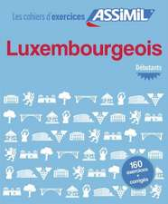 Cahier d'exercices Luxembourgeois - dbutants
