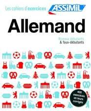 Coffret Cahiers d'exercices ALLEMAND Dbutants + Faux-dbutants