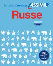 Cahier d'exercices Russe - debutants