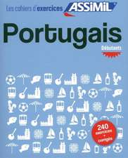Valente Pires, L: Cahier d'exercices Portugais - Debutants