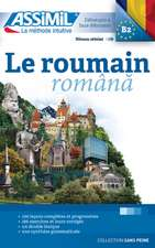Le Roumain: Book Only