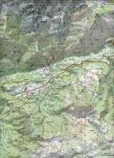 Korsika Monte Renoso - Bastelica 1 : 25 000
