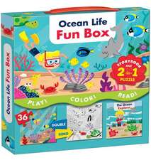 Ocean Life Fun Box: Includes a Storybook and a 2-In-1 Puzzle