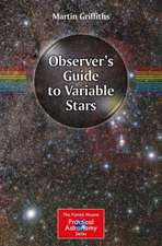 Observer's Guide to Variable Stars