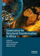Governance for Structural Transformation in Africa