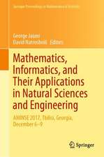 Mathematics, Informatics, and Their Applications in Natural Sciences and Engineering: AMINSE 2017, Tbilisi, Georgia, December 6-9