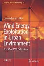 Wind Energy Exploitation in Urban Environment: TUrbWind 2018 Colloquium