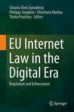 EU Internet Law in the Digital Era: Regulation and Enforcement