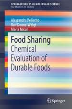Food Sharing: Chemical Evaluation of Durable Foods